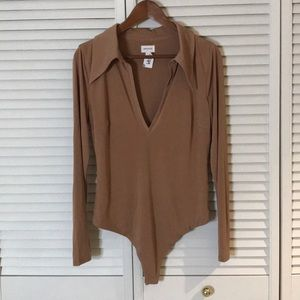 Tops - REVOLVE bodysuit with collar